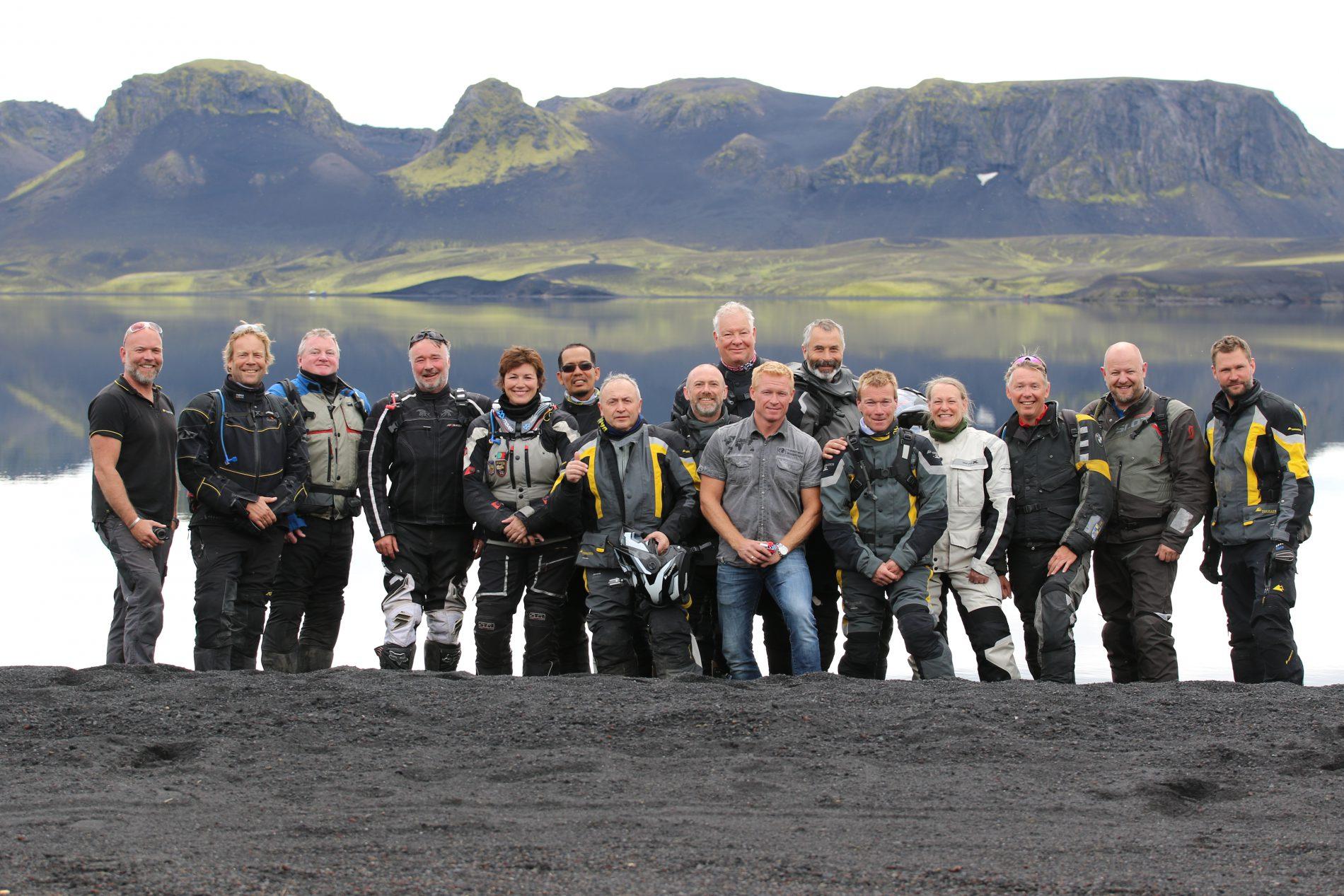 Touratech Experience - Island deltagare på vår motorcykelresa