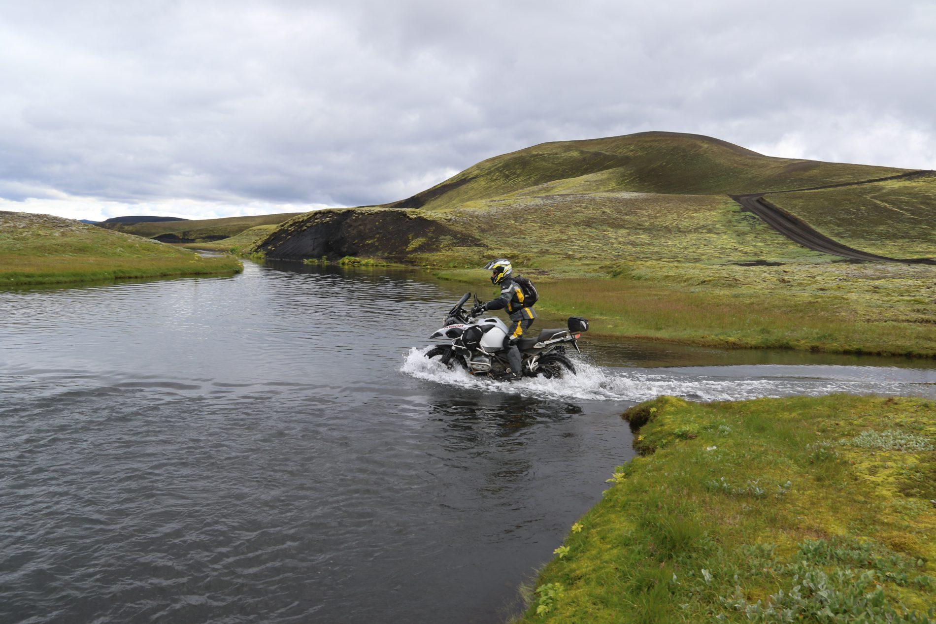 Touratech Experience - Island körning i vatten