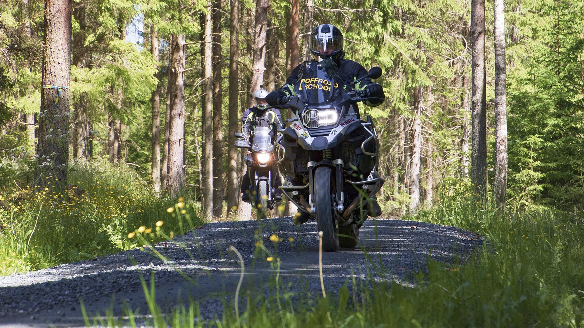 Touratech Experience - Förarutbildning - Skogstur