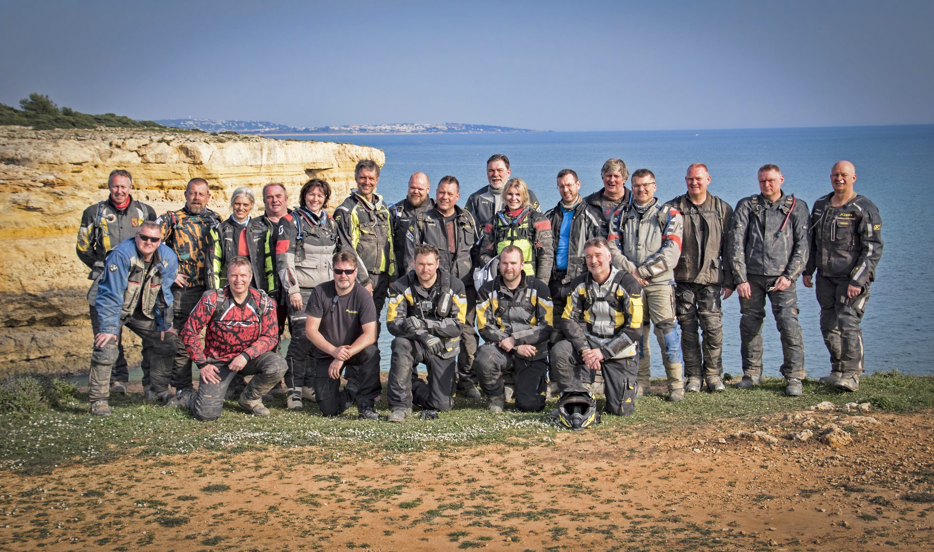 Touratech Experience Portugal - gruppfoto