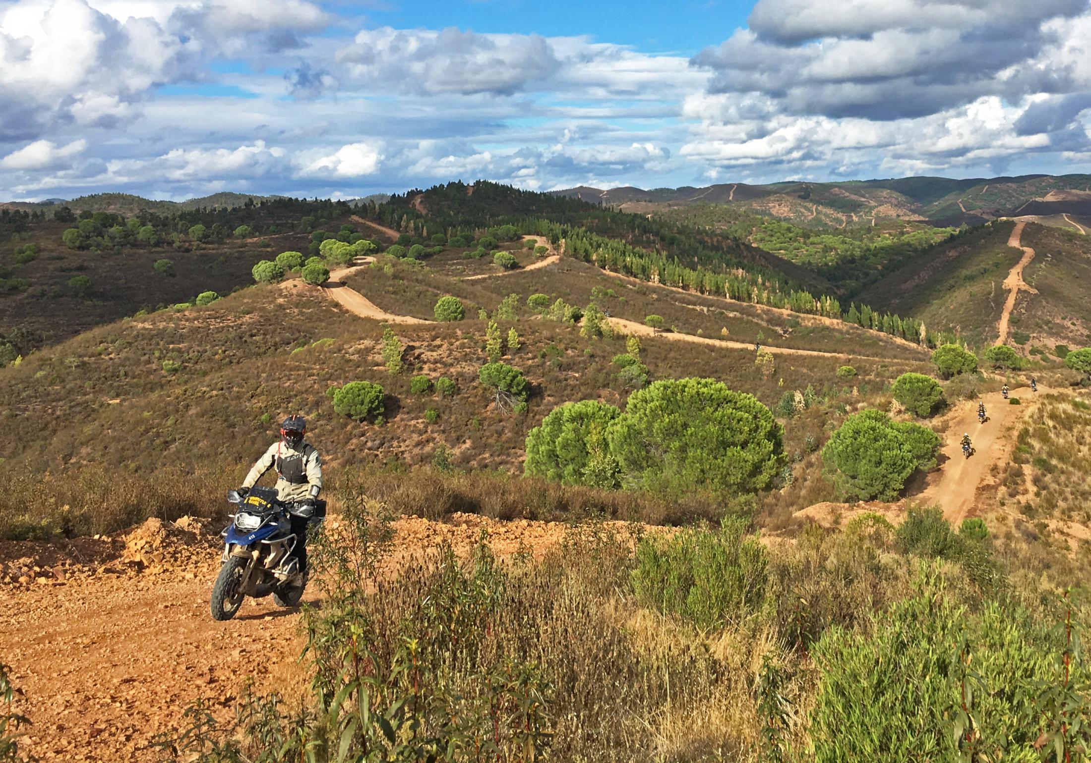Touratech Experience motorcykelresa till Portugal