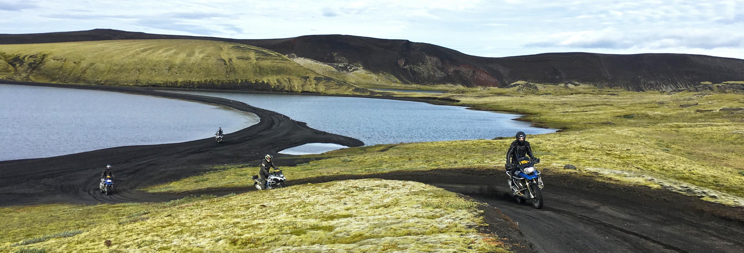 Touratech Experience äventyrsresor på motorcykel Island 2018