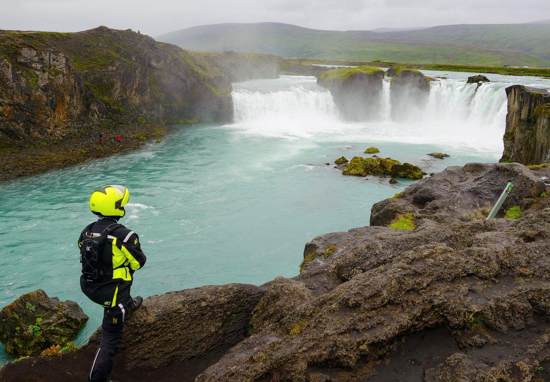 Touratech Experience - Island vattenfall mc-resa