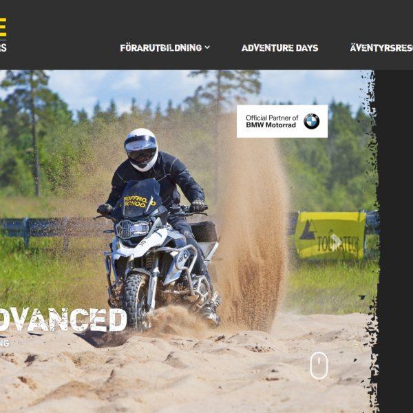 Ny hemsida www.touratechexperience.com